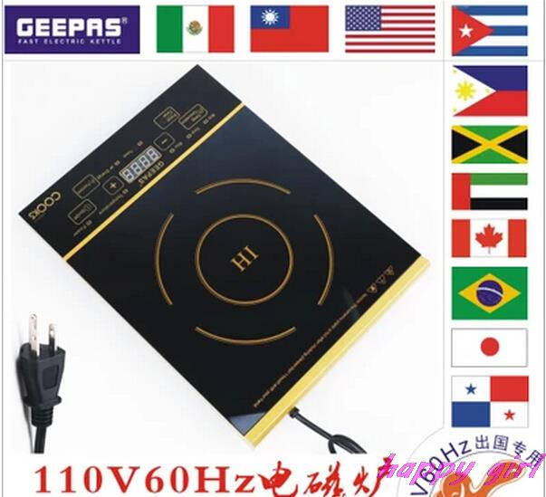 Здесь можно купить  Digital touch induction English panel cooker mirror 110V dedicated Abroad United States Japan Canada Taiwan Brazil 60HZ 1300W  Бытовая техника