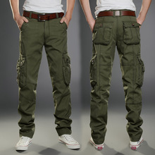 Tactical Cargo Outdoor Pants Men Combat Army Training Military Pants Cotton Hunting Outdoors Sport Trousers Size 28-40