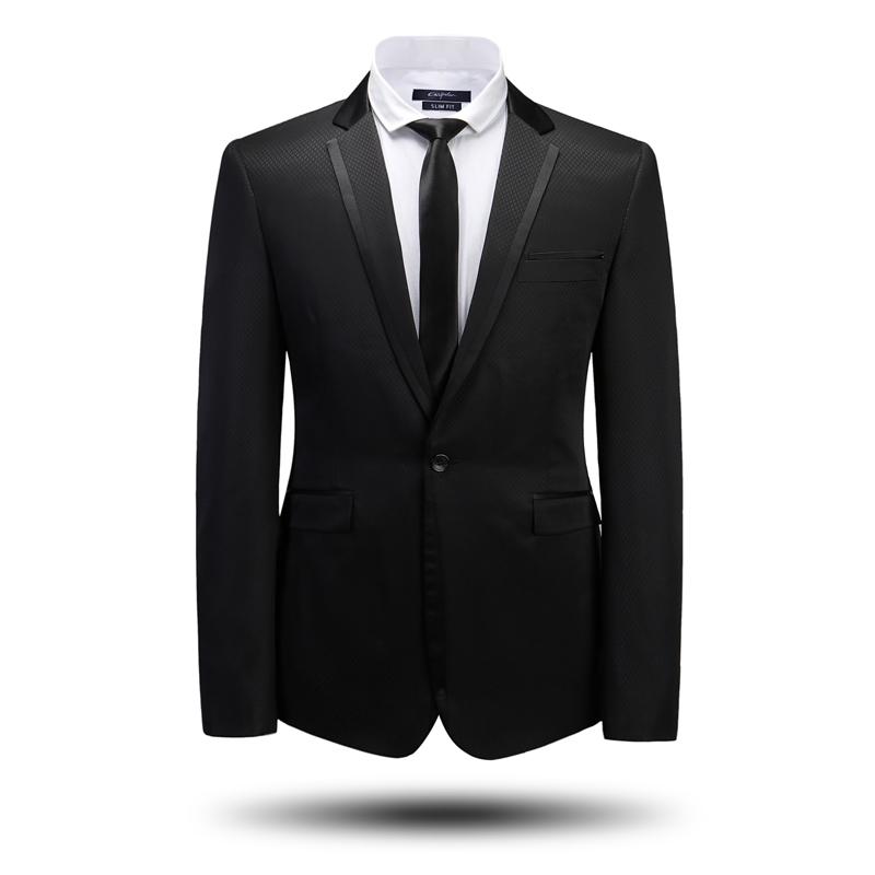 2015 Hot Fashion Brand Men's Diamond Plaid Casual Dress Suits Wholesale Wool Tuxedo Wedding Slim Fit Suit For Boys Plus Size 4XL(China (Mainland))