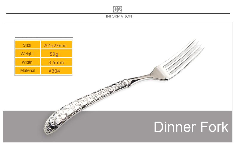 Buy LEKOCH Bending handle Cultery Sets 18/10 Stainless Steel Flatware Set Fork Knife Spoons Silverware Set Home Tableware Set cheap