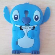 Hot 3D Cute SUPER Flexible Cartoon Stitch Soft Silicone Cover Case LG Optimus L7 II Dual P710 P713 P715 - Huaqiang On Line store
