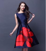 Vestidos Fashion 2016 Spring Summer Elegant  Women Dress sleeveless bodycon Midi dress Office Lady Work Party dresses plus size(China (Mainland))