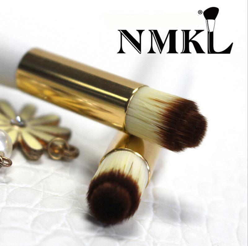 Nose Brush / Blackhead Nose Wash Brush / Cleansing Brush Makeup Brushes Wooden Handle Makeup Tools 2/ Lot(China (Mainland))