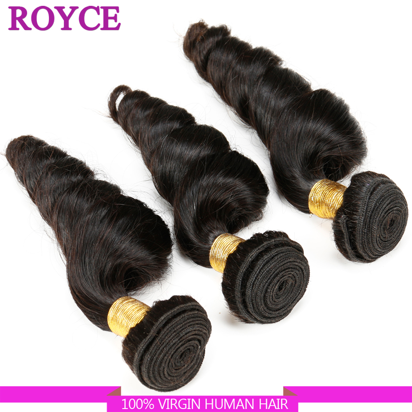 New Arrival Sexy Formula Hair 7A Unprocessed Virgin Peruvian Loose Wave 3 pcs Hair ExtensionPeruvian Virgin Human Hair Weaving