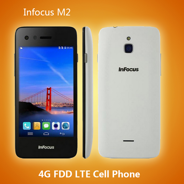 Мобильный телефон Foxconn Infocus 2 4G FDD LTE 4.2' 1280 * 720 IPS 4.4 3G WCDMA 1 8 ROM 8.0MP Infocus M2 мобильный телефон huawei 3 x pro g750 2 8 5 5 ips mtk6592 13 0mp wcdma