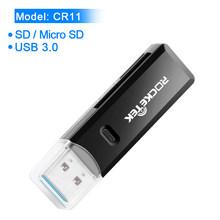 Rocketek usb 3.0 متعددة الذكية الذاكرة قارئ بطاقات وتغ نوع c محول البسيطة cardreader ل مايكرو SD/TF/CF /MS مايكرو الكمبيوتر(China)