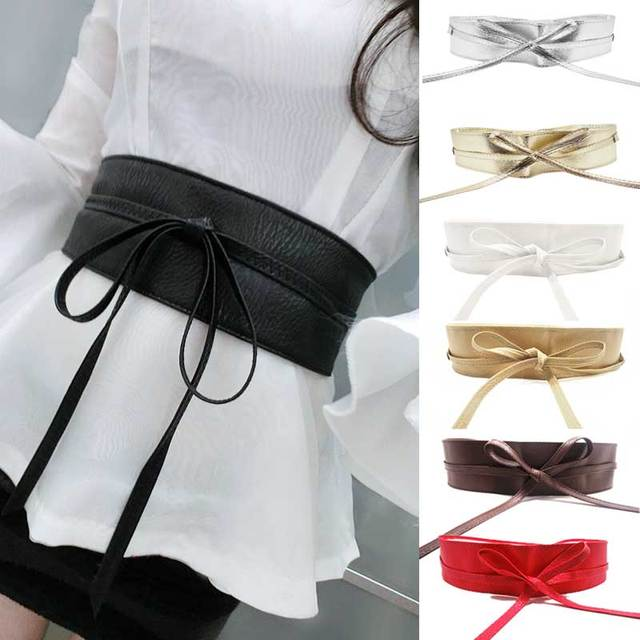 Fashionable Wide Belt
