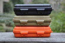 ALICE outdoor camping survival Waterproof and shockproof box sealed box EDC field survival tool storage box (trumpet)