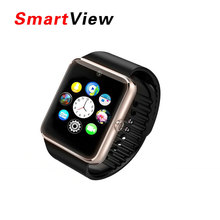 Smart Watch GT08 Clock Sync Notifier Support Sim Card Bluetooth Connectivity For Apple iphone Android Phone Smartwatch Watch