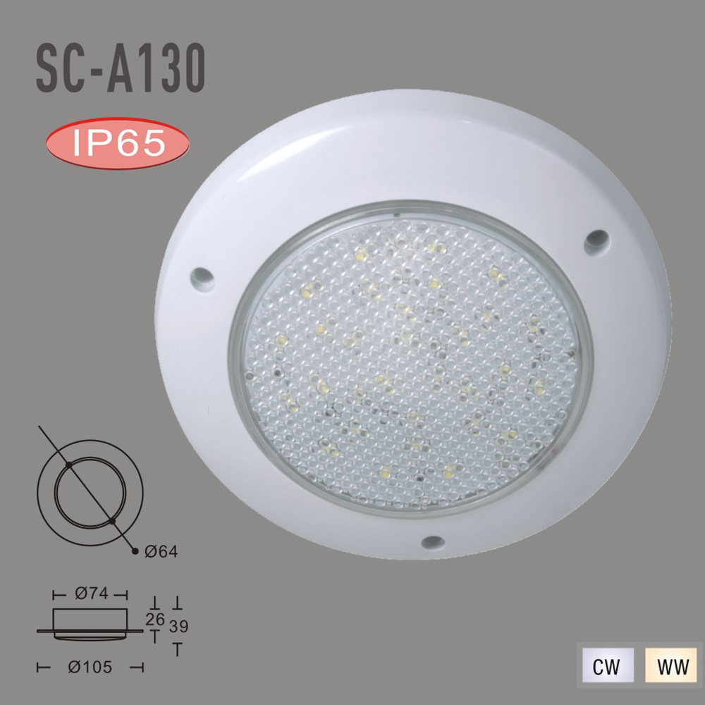 IP65 DC12V Waterproof LED Luminaria Teto SMD 3528  Outdoor Lihgting LED Down Light( WW,CW)<br><br>Aliexpress
