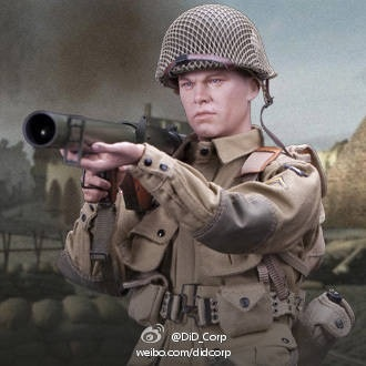 DID1: 6 scale Saving Private Ryan, Matt Damon Action figure doll12  Normandy 70th Anniversary Edition 101st AIRBORNE DIVISION<br><br>Aliexpress