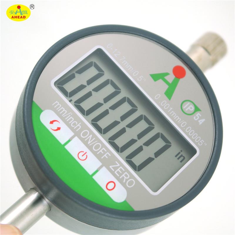 Dial Indicator Electronic Digital Micrometer LCD USB 0-12.7mm/0.001mm Electronic Digital Dial Gauge digital indicators AH37-113