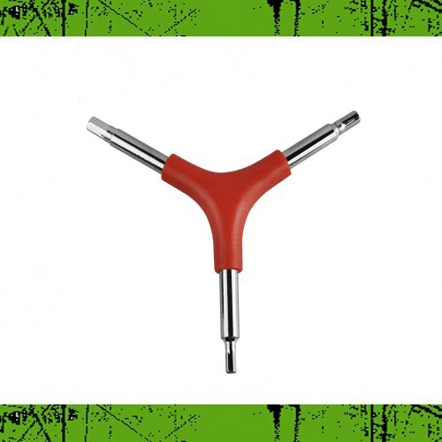 Repair Useful 4MM/5MM/6MM Triangle Multi-wrench Bike Cycling Key Hex