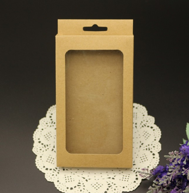 Joy 156*90*15mm phone case Retail Packaging Box / kraft paper boxes Package For Mobile Phone Case(China (Mainland))