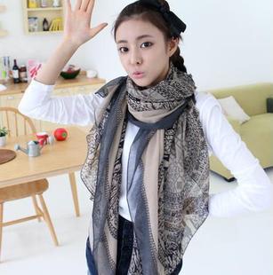 2016 новый бренд мода женский дизайн стиль оленей повязки шарф богема долго шарф хлопка подарок маркизета большой платок бесплатная доставка