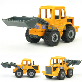 free shipping, Siku forkfuls bulk orange alloy car model toy