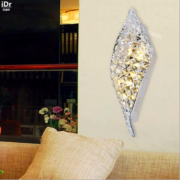 Купить Простой современный кристалл из светодиодов декоративные светильники спальня ден гостиной бра Rmy-0279