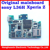 free shipping100% original full Motherboard main board with chips for Sony Xperia Z L36H C6602 C6603 system board circuit boards