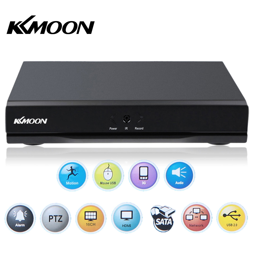 KKMOON 16 CH 960H D1 CCTV DVR Recorder H.264 HDMI Real Time Standalone Network Digital Video Recorder For Home Security System(China (Mainland))