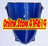 Suzuki GSXR 1000 K9 2009 Windscreen Windshield GSX-R 1000 09 Double Bubble ABS Blue(China (Mainland))