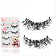5 Paia/lotto Crisscross Ciglia Finte Eye Lashes Voluminoso Make Up Lungo di Spessore Falso Ciglia Estensioni di Trucco Falso Ciglia(China (Mainland))