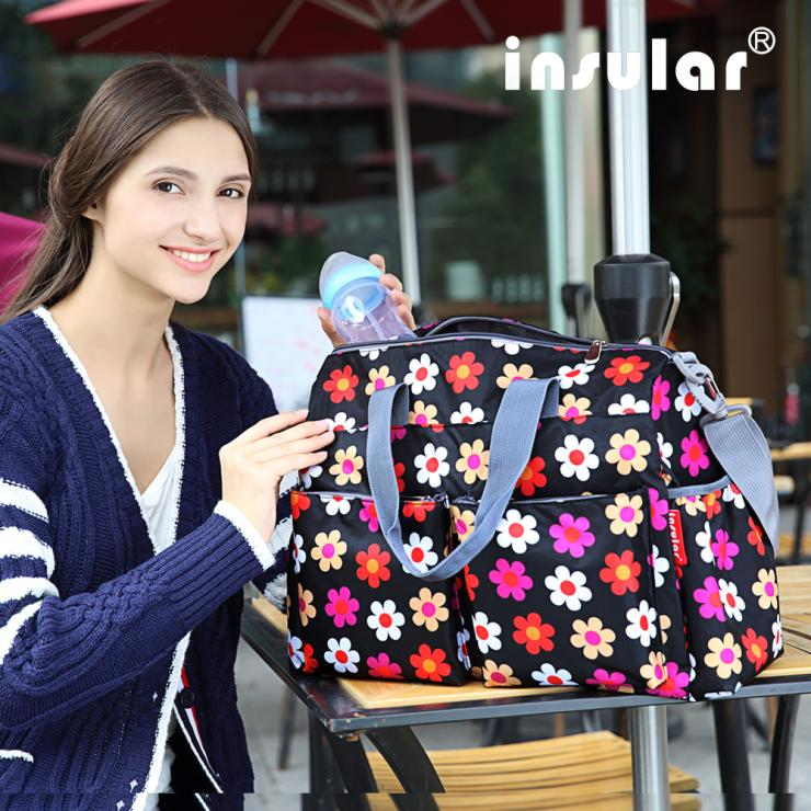 2015 Urban Series Fashion Multifunctional Ladys Bag Baby Diaper Bag Changing Bag Waterproof Nappy Bag Free Shipping Mommy Bag<br><br>Aliexpress