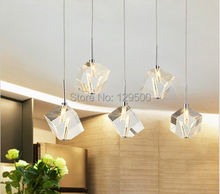 5 pcs/lot concise style home chandelier crystal lighting modern ceiling dinning room lights for cafe foyer restaurant deocr(China (Mainland))