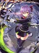 Free shipping Seraph Of The End Shinoa Japan Anime Silk Poster Art Wall Decor 20×27″ SOTE16
