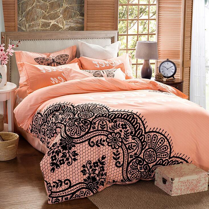 schwarz spitze bettw sche kaufen billigschwarz spitze. Black Bedroom Furniture Sets. Home Design Ideas