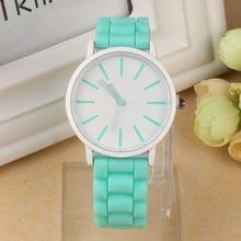 Silicone Rubber Jelly Gel Sports Women's Watch Luxury Brand Dress Woman Watch 2016 Brand Luxury Automatic Clock Men(China (Mainland))