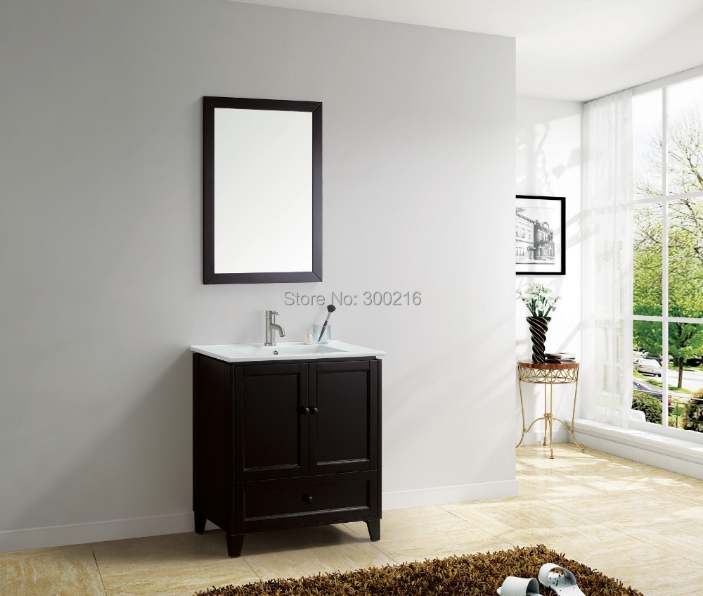 24 inch bathroom sets, bathroom mirrors, bathroom vanity cabinet 8705-24(China (Mainland))