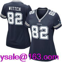 2016 Women Dallas Cowboys #9 Tony Romorush # 88 Dez Bryant # 82 Jason Witten navy white(China (Mainland))