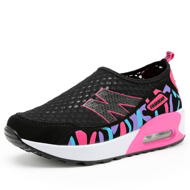 Высота увеличение летней обуви женские свободного покроя спортивная мода для женщин ...