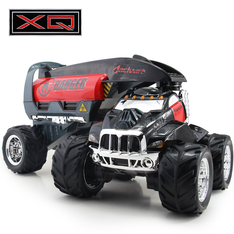 XQ four-wheel drive off-road remote control car charging large tank moving(China (Mainland))