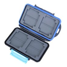 GTFS-Hot Sale Memory Card Carrying Case Holder Hold 4 CF or 8 SD(China (Mainland))