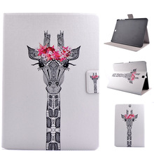 360For Samsung Galaxy Tab S2 8.0 SM T710 T715 T715N Tablet Leather with Card Holder Magnetic Stand Cover Case Y5C19D