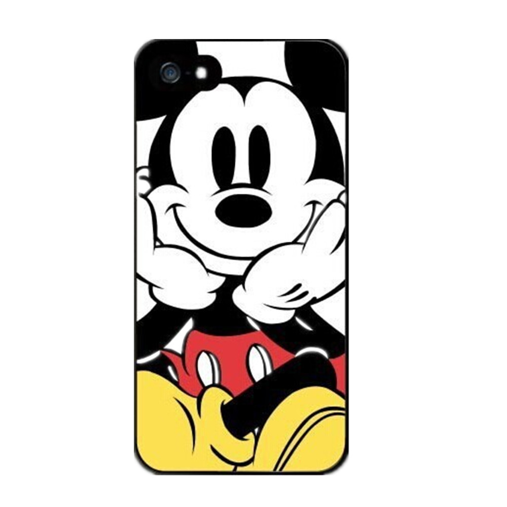New Popular Cute Mickey Mouse Protective Hard Cover Case For iPhone 4 4S 5 5S  5C  6 6 Plus(China (Mainland))