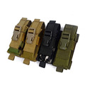 2016 1000D Nylon Camouflage Tactical Knife Holster MOLLE Magazine Pouch Cartridge Clip Bullet Tool Knife Belt