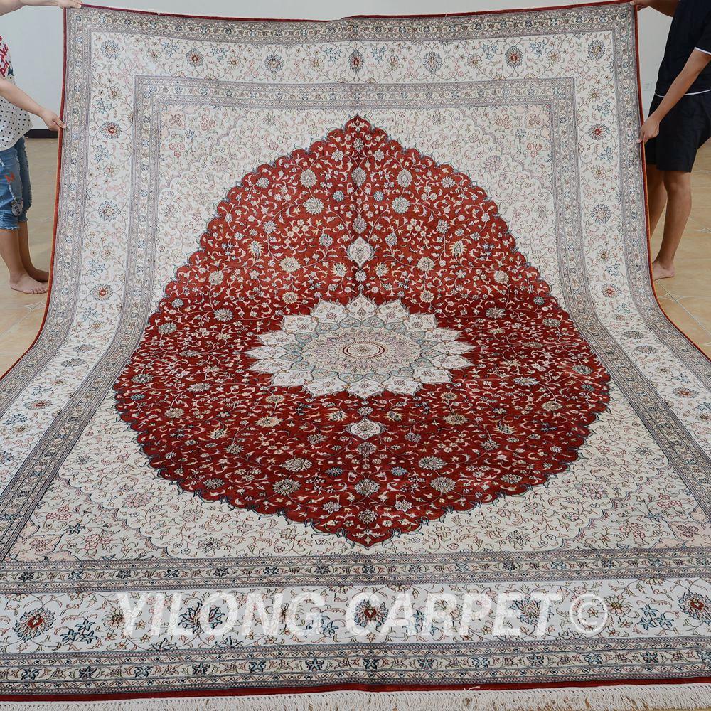 Alfombras antiguas compra lotes baratos de alfombras for Alfombra persa roja