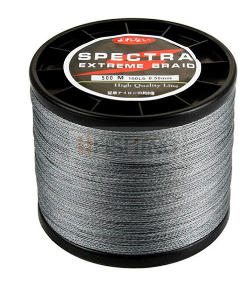 HOT!Free shipping Super Strong Japanese 500m Multifilament PE Braided Fishing Line 10 20 30 40 50 60 80LB(China (Mainland))