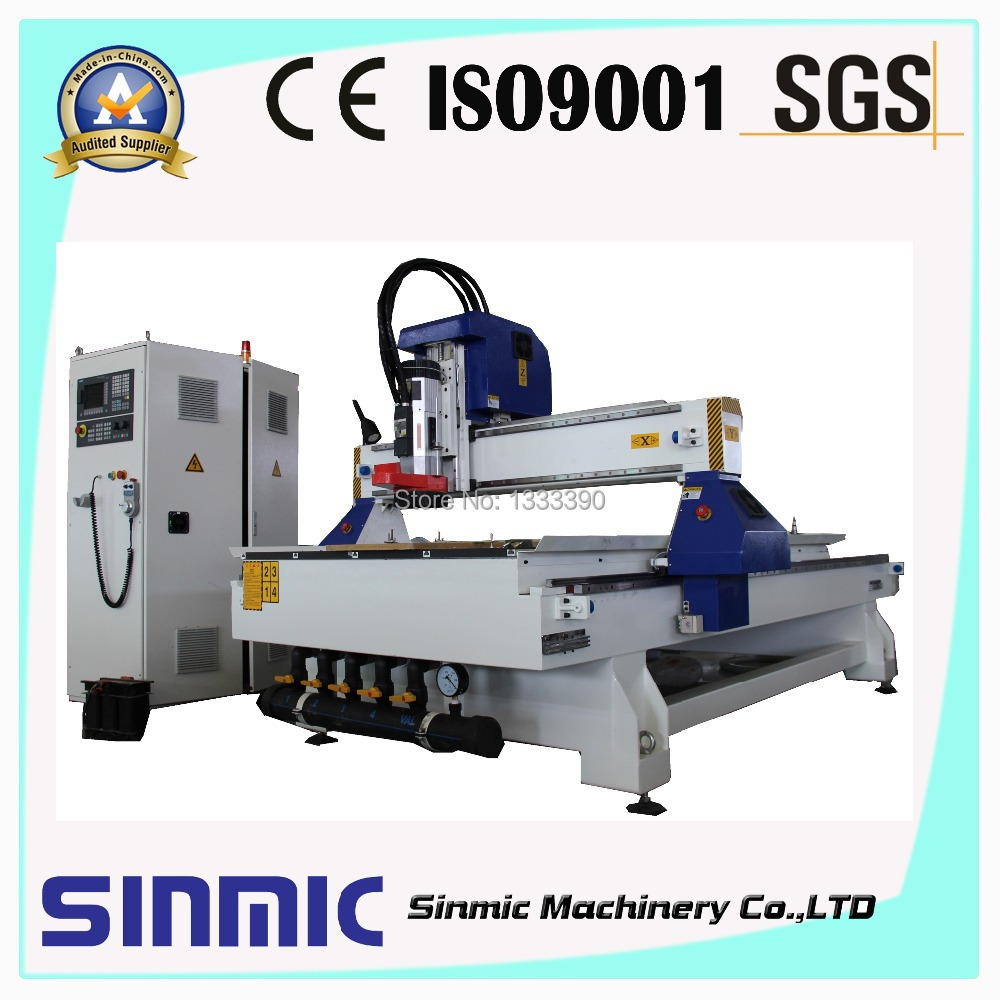 quality products 4d smart smart china stone hobby 4-axis wood cnc router aluminum t-slot table(China (Mainland))