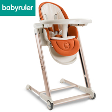 Buy Babyruler golden frame baby feeding chair multifunctional portable baby high dining chair folding baby table Four colors boost for $228.44 in AliExpress store