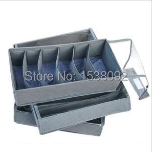 The most popular unisex clothes socks underwear bra storage box Storage Bags(China (Mainland))