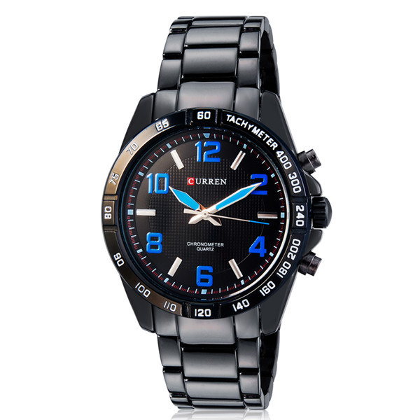 New 2015 Curren Casual Watch Men Wristwatch Luxury Brand Stainless Steel Strap Analog Men's Quartz Watch relogio masculino Reloj(China (Mainland))