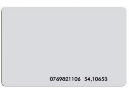 200pcs/lot 125KHZ Low Frequency EM4100 Chip PVC ID Card(ST-C01)(China (Mainland))