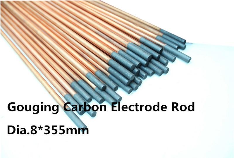 dia.8*355mm ARC-AIR graphite Electrodes, Copper Carbon Rods 50pcs(Hong Kong)