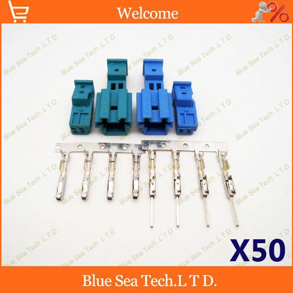 50 устанавливает два цвета 8-1452577-1А/9-968554-1А Автоматический динамик разъем,стерео штекер авто,авто лампы разъем с 10см кабель для BMW,Х1