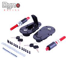 Generation Hood Lock,Sanko CARBON Feeling Flush Bonnet Hood Pins  Lock Kit(China (Mainland))