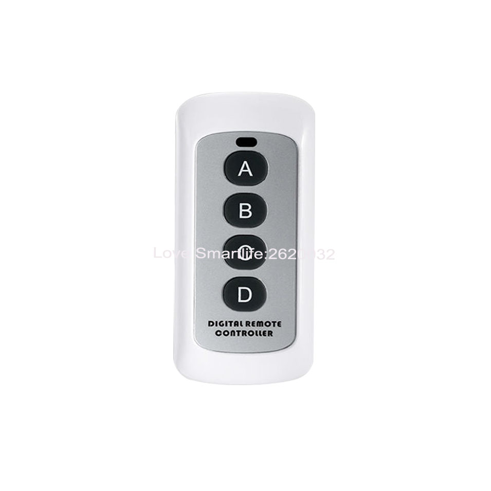 Original SESOO Remote controller, Digital Remote Control for SESOO Remote Control Switch,RF433 MHZ Remote Control,A B C D Button(China (Mainland))