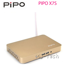 PIPO X7S Windows 8.1 Android Dual OS Smart TV BOX Intel Z3736F 2G/32G Mini PC(China (Mainland))